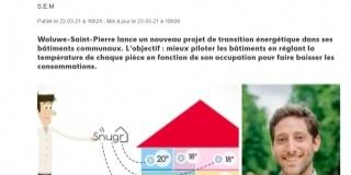 Woluwe-Saint-Pierre : Les radiateurs pilotés à distance pour réduire la consommation